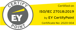 EY CertifyPoint ISO/IEC 27018:2019
