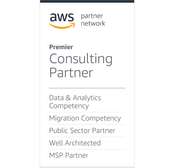 amazon web services Partner Network PREMIER CONSULTING PAERNER